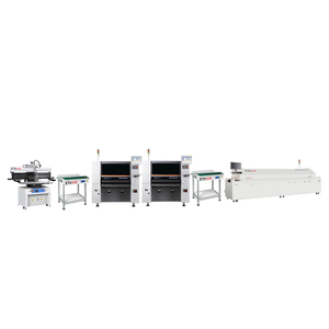 Economical Semi-auto High Quality SMT LED Production Line