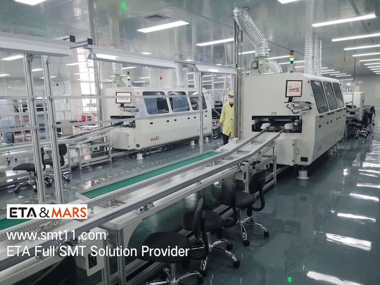 Fully Automatied SMT SMD Line Machine